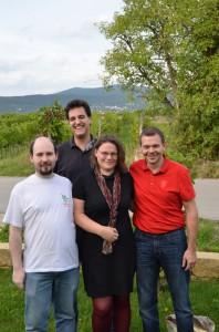 Alexander Schuler, Simon Naarmann, Nadine König, Michael Zahradnik